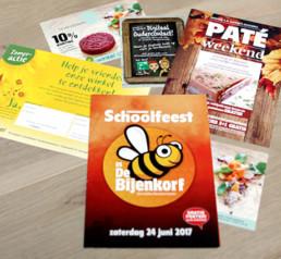 flyers grafisch ontwerp drukwerk dendermonde